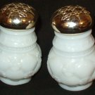 Two Avon 1972 Powder Sachet Jars Field Flowers and Moonwind