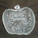 Apple Motif Art Glass Trinket Vanity Bowl Signed Italy
