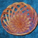 Primitive Reed Basket May Be Handmade Large 5 x 11 inches Older
