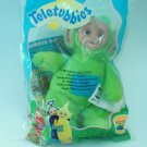 Dipsy of Teletubby Fame 1999 Clip On Beanbag Finger Puppet - New in Package