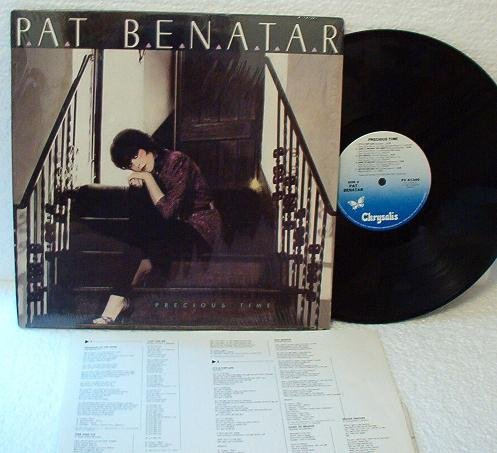 Precious Time by Pat Benatar lp Record - One Owner Exc Cond
