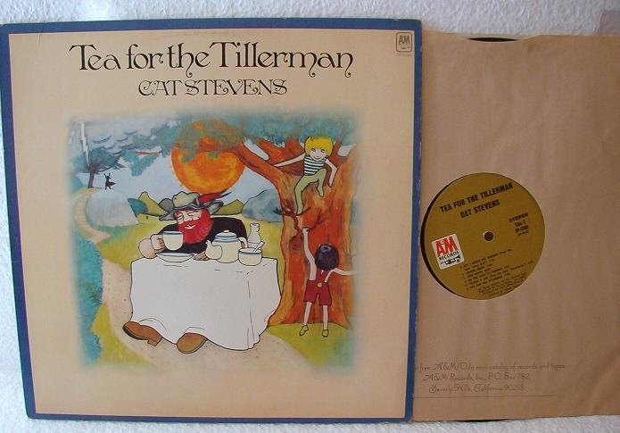 Cat Stevens - Tea For The Tillerman lp One Owner sp4280