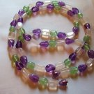 Jellybean Necklace 34 Inch ~ Great for Spring and Summer - Vintage