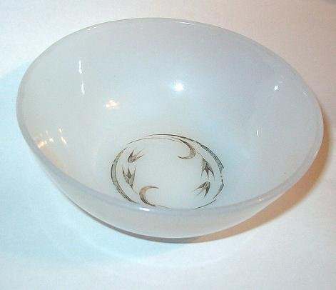 Vintage Fire King Berry Bowl Harvest Pattern 1950s