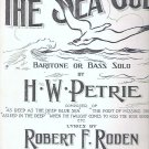 The Sea Gull 1916 Sheet Music by H W Petrie Robert Roden