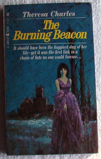 The Burning Beacon rare 1966 Mystery Romance by Theresa Charles