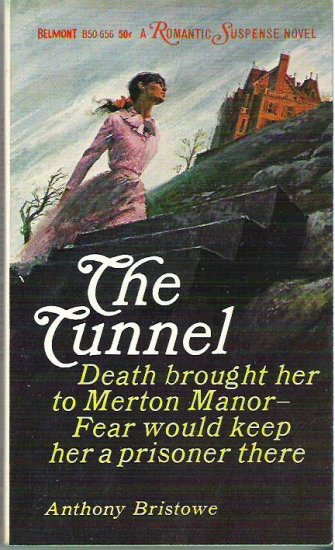 The Tunnel by Anthony Bristowe 1965 Romantic Suspense