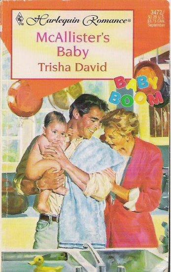 McAllisters Baby by Trisha David Romance Book 0373034725