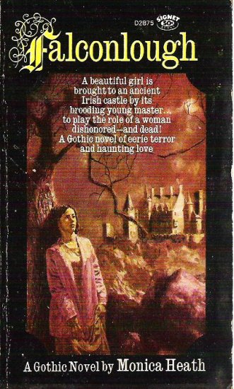 Falconlough - Monica Heath 1966 Gothic Novel - Gr8 Cond