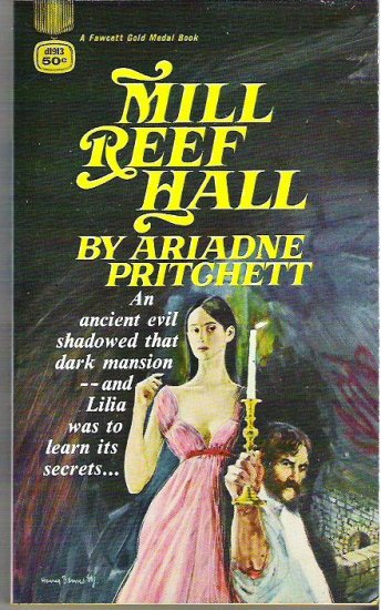 Mill Reef Hall - Ariadne Pritchett 1968 Gothic Novel Mint