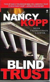 Blind Trust by Nancy Kopp Paperback Thriller 0451410793