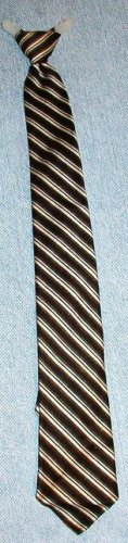 Mens Vintage Clip On-No Tie Necktie Designed by Forsyth