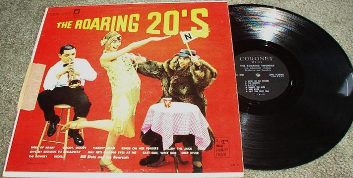The Roaring 20s lp Coronet Records cx-2 Bill Stutz