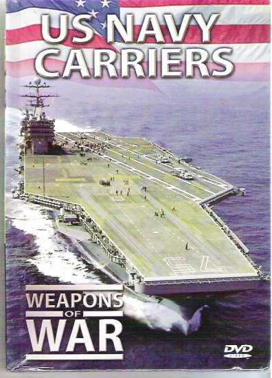 U S Navy Carriers Weapons of War - Sealed dvd 1025790060