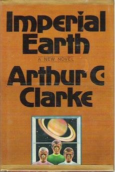 Imperial Earth by Arthur Clarke Hardcopy Science Fiction 0151442339