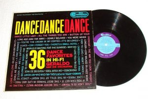 Dance Dance Dance 36 Favorites - Geraldo 1958 lp rca Camden