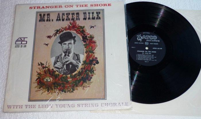 Stranger On The Shore by Mr Acker Bilk lp ATCO 33-129 1962