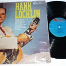 Hank Locklin 1960s lp rca Camden Label cal 705 One Owner