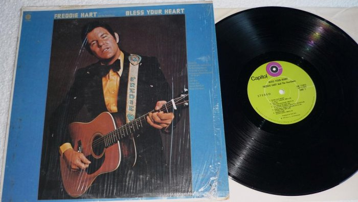 Freddie Hart - Bless Your Heart 1972 lp ST-11073