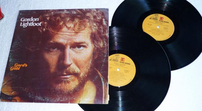 Gords Gold by Gordon Lightfoot 1975 lp 2rx 2237 Two Album Set
