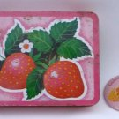 Metal Tin Box by Interpur Hong Kong - Strawberry Decor Also Celebrate Spring Pin