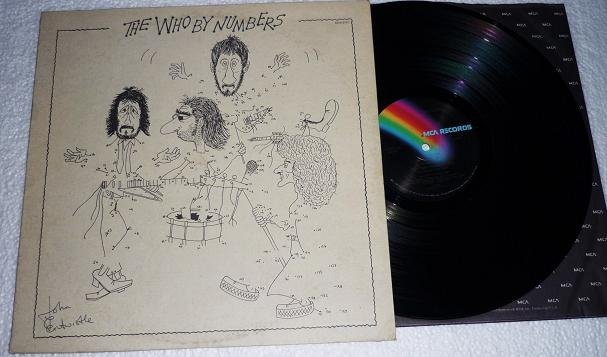 The Who By Numbers lp 1975 Record mca 2161 One Owner