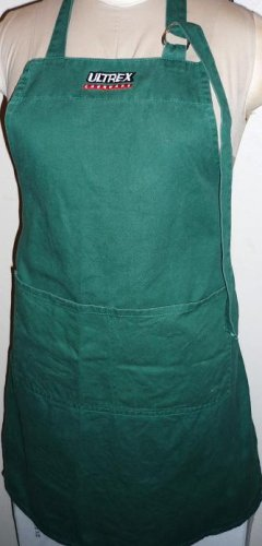 Ultrex Brand Full Apron Forest Green As New Unisex