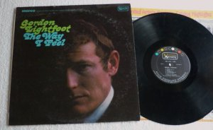 The Way I Feel by Gordon Lightfoot 6587 lp 1967 United One Owner