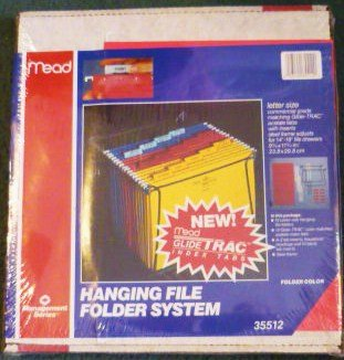 Mead Hanging File Folder System Files, Frame, Tabs Letter Size Brand New