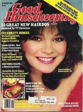Good Housekeeping Magazine January 1982 Valerie Bertinelli
