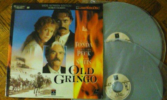 Old Gringo LaserDisc Jane Fonda Gregory Peck 0800101367