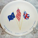 BSA Hiawatha Council Spirit of 1976 Round-Up Souvenir Plate