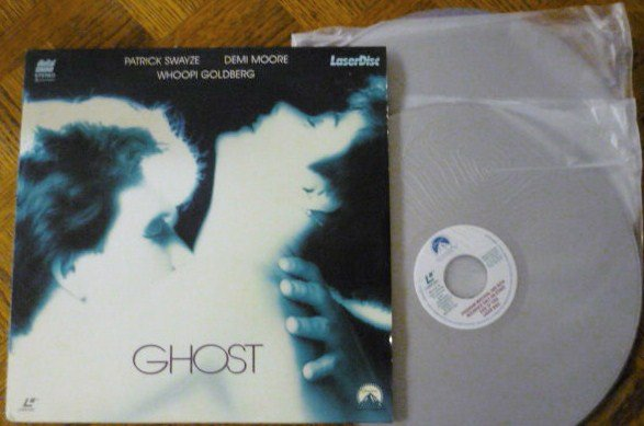 Ghost Laser Disc Laserdisc with Patrick Swayze Demi Moore Whoopi Goldberg