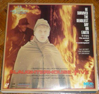 Slaughterhouse Five 1987 Laser Disc Laserdisc