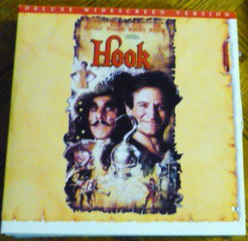 Hook Laser Disc Laserdisc Movie J Roberts R Williams D Hoffman 080011504x