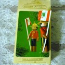 Hallmark Clothespin Soldier 1984 Keepsake Holiday Ornament