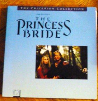 The Princess Bride Laser Disc dss ws Criterion clv Rare 1989