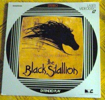 The Black Stallion Laserdisc Francis Ford Coppola 1981