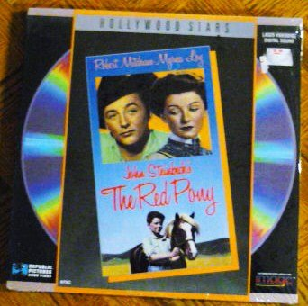 The Red Pony Laserdisc 1988 Version
