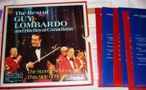 The Best of Guy Lombardo Royal Canadians 1975 Album Readers Digest