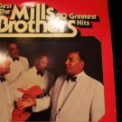 1977 The Best of the Mills Brothers 2 Record lp tv-1007