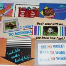 All Occasion Greeting Post Cards 21 Lot Unused and Humorous