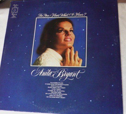 Do You Hear What I Hear by Anita Bryant lp kh 30674