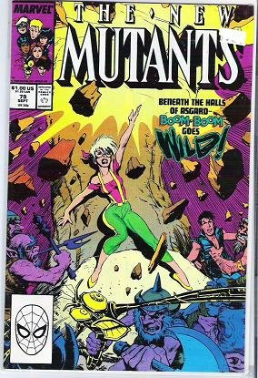 The New Mutants Marvel Comics Sept 1989 Boom Asgard - Mint