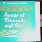 Songs of Triumph and Joy lp - Youth for Christ wst-8564