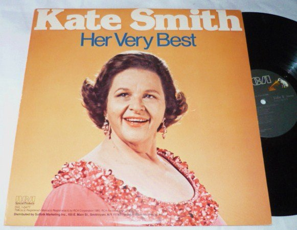 Kate Smith Her Very Best lp 1980 dvl 1-0477 Near Mint