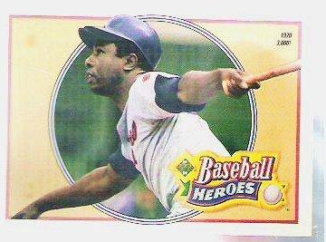 Hank Aaron 1991 Upper Deck Heroes No. 22 Baseball Card