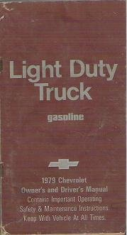 1979 Chevrolet Light Duty Truck Owners and Drivers Manual