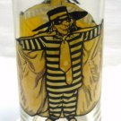 Hamburglar Collector Series McDonalds Glass