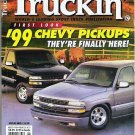 Truckin Magazine August 1998 Fords, Chevys, Suspension Info RARE